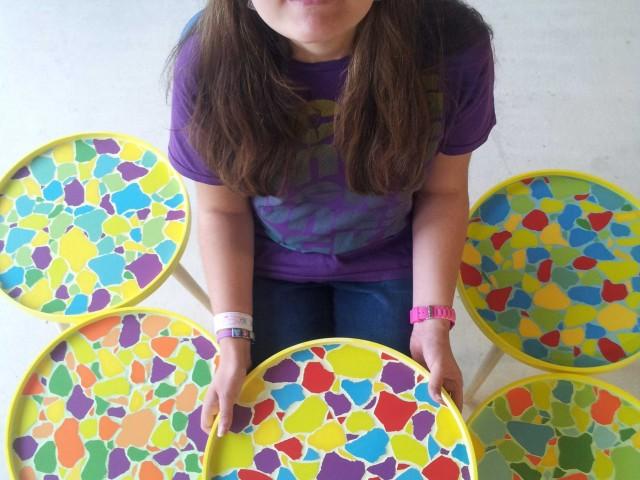 Dagbesteding met mozaiek