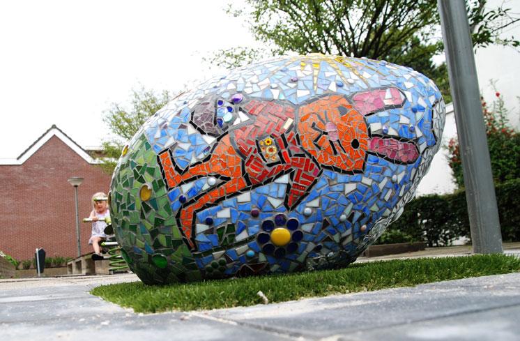 Eieren in de wijk