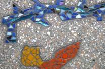 Mozaiektegels nieuwland oost